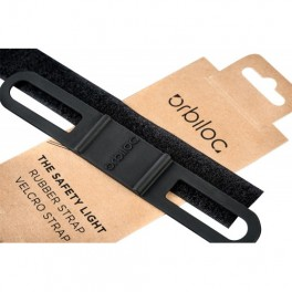 Orbiloc safety light rubber and velcro strap
