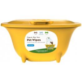 Organic Oscar Aloe Vera Pet Wipes